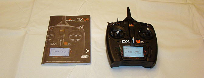 <b>Spektrum DX6e</b>