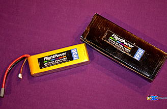 <b>FlightPower 4350 mah 4S 30C Battery Pack</b>