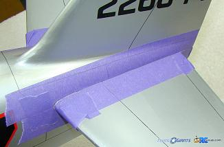 <b>Low tack tape to protect the surfaces</b>