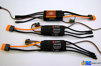 <b>Avian 30, 45, and 60 Amp ESCs</b>