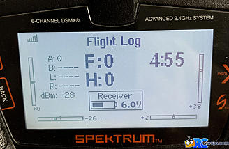 <b>Receiver Flight Log Info</b>