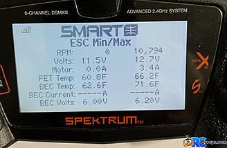 <b>Smart ESC Min/Max Values</b>