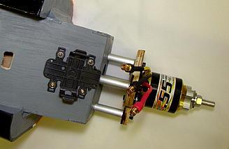<b>Talon mounting plate installed.</b>
