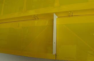 <b>Card stock between aileron and flap</b>
