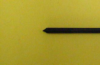 <b>Chisel point on pushrod</b>
