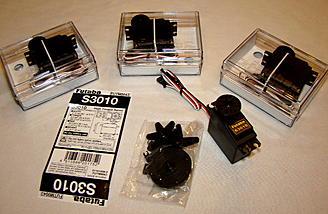 <b>Futaba S3010 Standard High-Torque Servos</b>