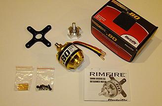 <b>Rimfire .80 Brushless Outrunner Motor</b>