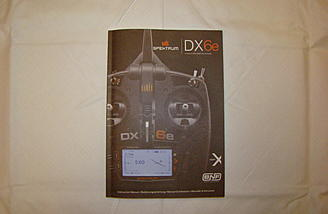 <b>Spektrum DX6e Instruction Manual</b>