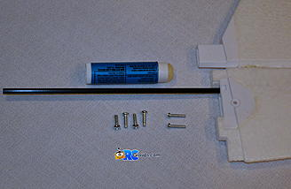 <b>Long screws used to mount stab.</b>