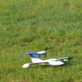 Grass takeoff - on the step