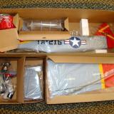 Major components individually boxed