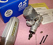 O.S. 95AX Engine