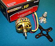 <b>Rimfire .10 (35-30-1250) Outrunner Motor<b>