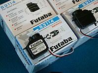<b>Futaba S3114 Servos<b>