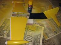 Name: IMG_1409.jpg Views: 154 Size: 69.6 KB Description: 3 coats of Krylon H2O Yellow.
