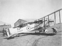 Name: Bristol Fighter Aboukir.jpg Views: 541 Size: 52.5 KB Description: Bristol Fighter , Engine run up at Abirkur about 1921. Written on reverse of photo......Ex.6 Sqdn 'Bristol Fighter having the engine run up on the ground before taking off.  Note me on the tail.We are wearing no sun hats as it was taken in February