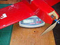 Name: 2014-06-08 16.44.01.jpg Views: 133 Size: 925.7 KB Description: AUW - Battery =  468 g (16.5 oz for the metric challenged)