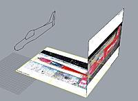 Name: Copia 3D.JPG Views: 127 Size: 48.5 KB Description: Transfering the  outline.