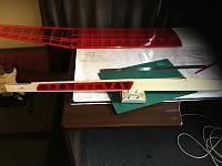 Name: CD2CF019-220F-406E-8AFA-6B97E31218E1.jpeg Views: 119 Size: 1.52 MB Description: Again the cutting mat helped making a good cut.