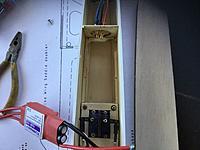 Name: F88FC931-D9AE-4227-A3F1-9250E4644845.jpeg Views: 118 Size: 2.37 MB Description: Trim bay for battery. 1300 Graphene 3s 45 c