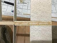 """Name: 717C2AF9-6ED5-47B9-9145-E5D02CEA9512.jpeg Views: 2 Size: 2.09 MB Description: It is important that the balsa sheets fit perfectly, do not sand more than you need, remember: """"it's better to have plenty than having few�"""