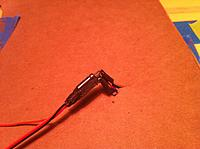Name: cardboard under harness being soldered.jpg Views: 228 Size: 201.3 KB Description: