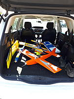 Name: 20190420_130250.jpg Views: 6 Size: 2.47 MB Description: Some planes in the car and ready to go!