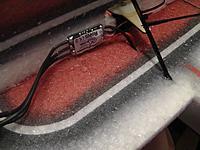 Name: M1420005.jpg Views: 675 Size: 280.7 KB Description: Mount your ESC with a dab of Welder glue...