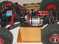 Name: Showing the new spacer and new motor   .JPG Views: 21 Size: 1,022.5 KB Description: