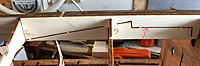 Name: cutout on keel.jpg Views: 53 Size: 63.2 KB Description: This is the piece of keel that will be cut out later and it makes sense to leave it in place because of the extra strength it provides during the early stages of the build.