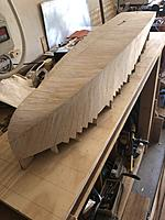 Name: IMG_2487.jpg Views: 29 Size: 3.30 MB Description: Sub-planking done and started sanding