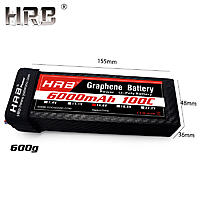 Name: HRB-Graphene-Lipo-Battery-14-8V-6000mah-100C-4S-TRX-XT90-EC5-Deans-T-XT60-For.jpg