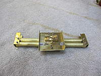 Name: IMG_1021.jpg Views: 791 Size: 109.5 KB Description: Rudder bar assembly with drive pins that slip fit into the servo arm.