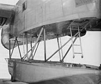 Name: 16.jpg Views: 60 Size: 173.1 KB Description: the ladder allows crew to enter or egress whilst on water or to anchor the boat at a mooring ..fuel was also carried in the float.