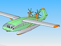 Name: SharG-53_003.jpg Views: 70 Size: 71.6 KB Description: Interesting Wig meets floatplane /Bernelli lifting body concept ..would it fly well the wasserflug model says definitely