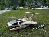 Name: wasserflug06_03.jpg Views: 75 Size: 153.7 KB Description: This models been on the wasserflug site and inter ex for some time and it fly's and ROWs well. It predates the scale design sketch.