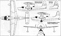 Name: 26-1.jpg Views: 65 Size: 135.4 KB Description: Shows wing folding lines and variations on the rear of the wing pylon and fin assembly