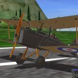 Close-up: SE5A biplane