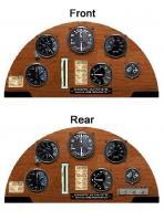 Name: tiger motth instrumentpane01l.jpg Views: 3364 Size: 89.0 KB Description: Tiger Moth instrument panel
