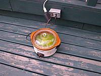 Name: DSCN7565.jpg Views: 151 Size: 117.5 KB Description: Bill's cook out. crock pot  and anti freeze