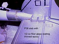 Name: P38 stab  fiber glass.jpg