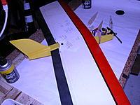 Name: Winglet-426.jpg Views: 53 Size: 207.9 KB Description: Winglet 2, AUW 13 oz , flies on 75 watts, goes vertical on 150 watts.