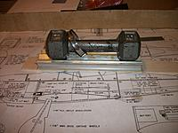 Name: FW190A 001.JPG Views: 30 Size: 2.56 MB Description: Wing crutch doublers made from balsa instead of plywood.