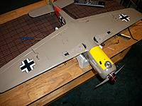 Name: FW190A 002.JPG Views: 30 Size: 2.76 MB Description: Gear door are getting close.