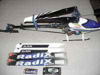 Name: P9230007.jpg Views: 90 Size: 80.7 KB Description: Installed all CY stuff plus got spare Blades, paddles, and tail blades!