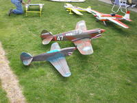 Name: P-40 mine and mikes.jpg