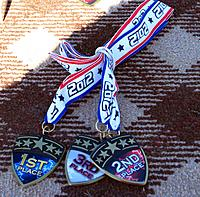 Name: IMG_8134_small.jpg Views: 45 Size: 296.5 KB Description: Medals for each day (Sat and Sun)