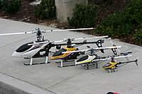 Name: T-Rex_family.jpg Views: 347 Size: 55.8 KB Description: The T-Rex electric family: 600CF, 500CF, 450SEV2, and 250