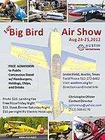 Name: BigBird_Flyer_2012.jpg Views: 87 Size: 140.7 KB Description: ARCA - 14th Annual Big Bird Air Show - Austin, TX