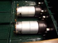 Name: trojan pro06 (175).jpg Views: 709 Size: 66.7 KB Description: motors in place (Johnson 9.6v nominal low drain 20'000rpm )
